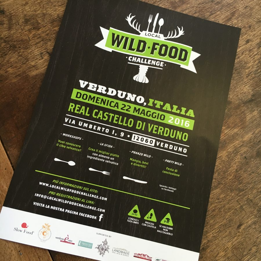 LOCAL WILD FOOD CHALLENGE – Real Castello Di Verduno