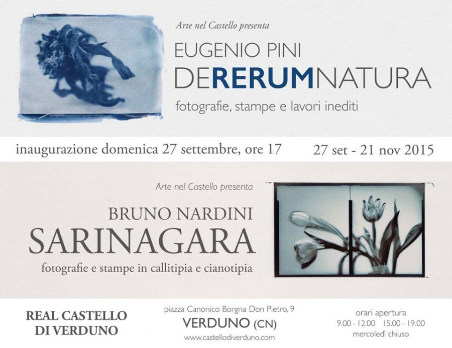 """""""De Rerum Natura"""" di Eugenio Pini – """"Sarinagara"""" di Bruno Nardini"""